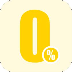 Préstamos al 0% de interés